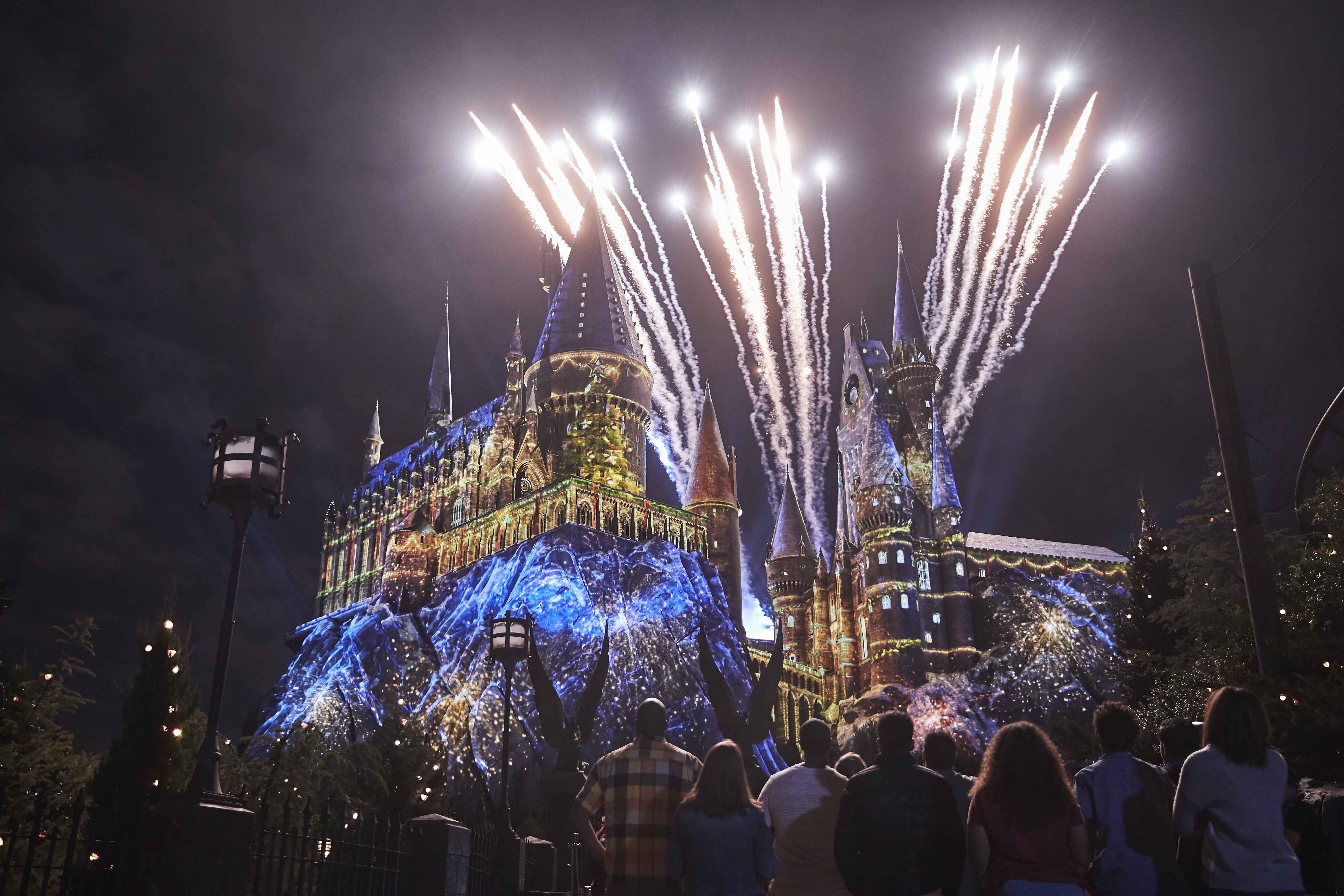 Orlando Christmas Harry Potter 2020 Holiday Magic Transfigures Universal Orlando Resort for Christmas