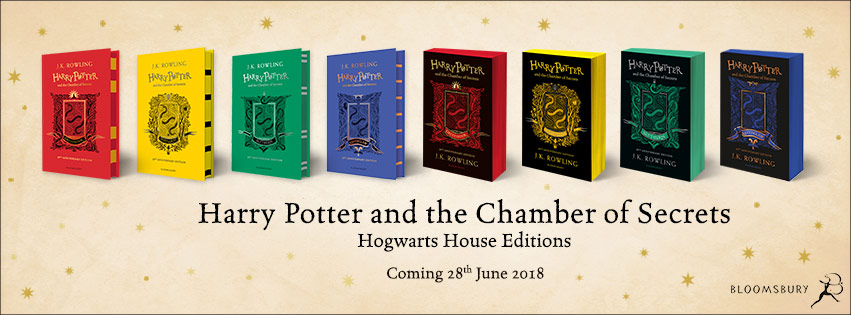Bloomsbury Announces Release of 'Harry Potter and the Chamber of