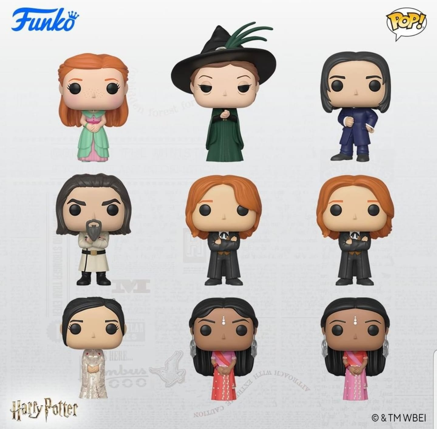 New Yule Ball Funko Pop! Figures Coming Soon! - The-Leaky