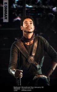 Enoch as Titus Lartius in Coriolanus.