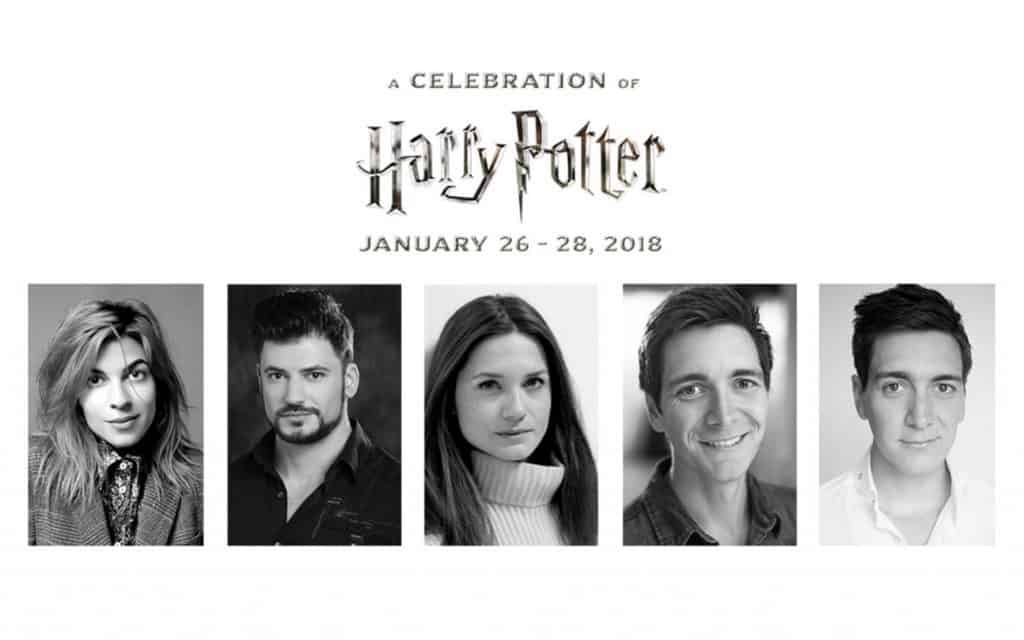 More magic announced for a celebration of harry potter the leaky celebration of harry potter 2018 film talent roster stopboris Images