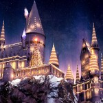 Christmas in The WWoHP, hogsmeade, wizarding world of harry potter, hogwarts
