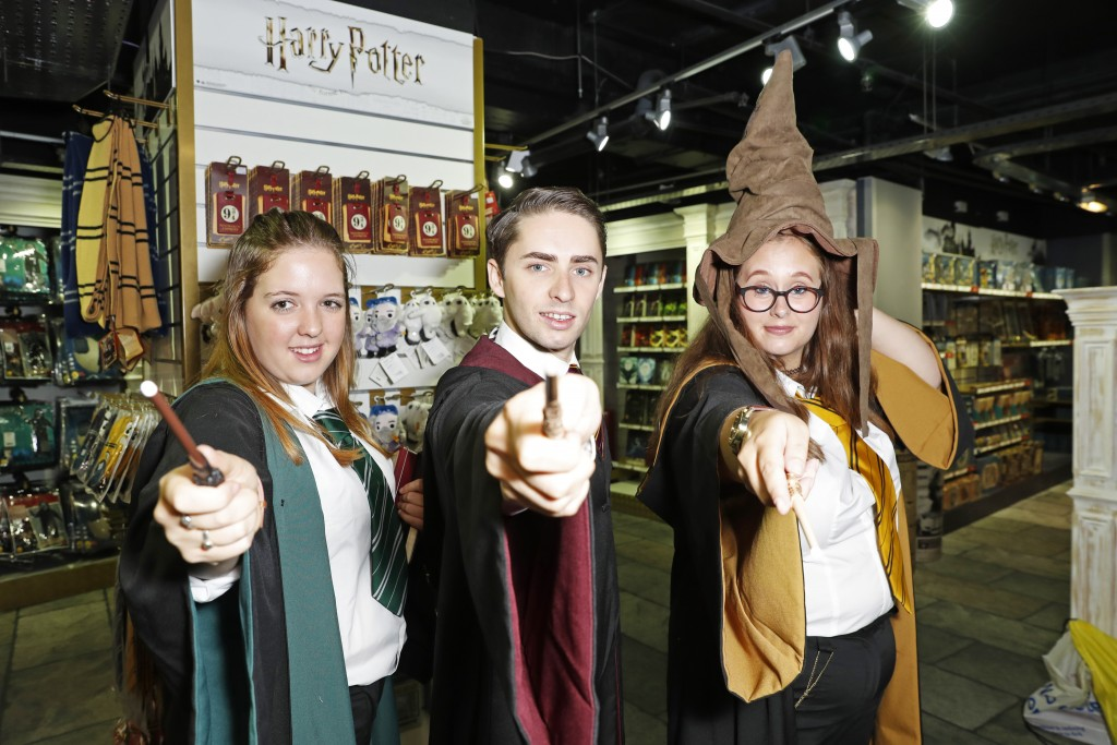 LONDON, ENGLAND - JULY 19:  A general view of the atmosphere at the launch of The Wizarding World of Harry Potter at Hamleys on July 19, 2018 in London, England.  Pic Credit: Dave Benett