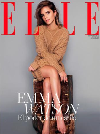 Emma Watson talks of her New projects in Video and ELLE ...