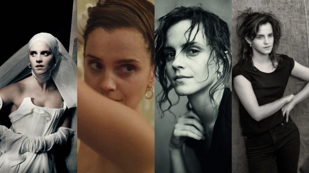 Emma Watson pirelli collage