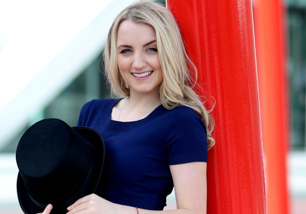 evanna lynch takes a break from conventions to push herself as an