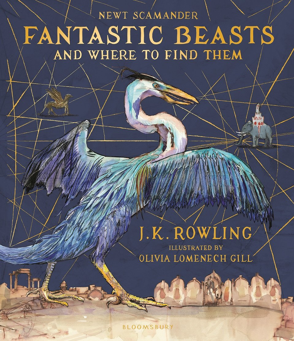 Book Cover Art Search : Fantastic beasts strut their way onto new cover art the