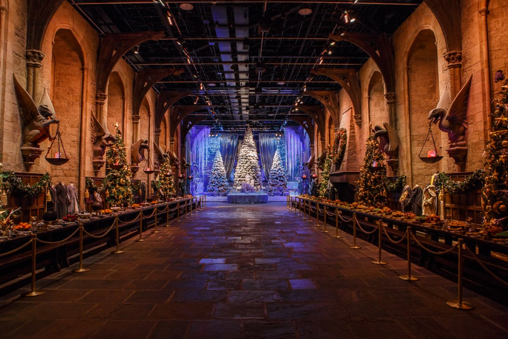 Great Hall with Yule Ball stage (1)