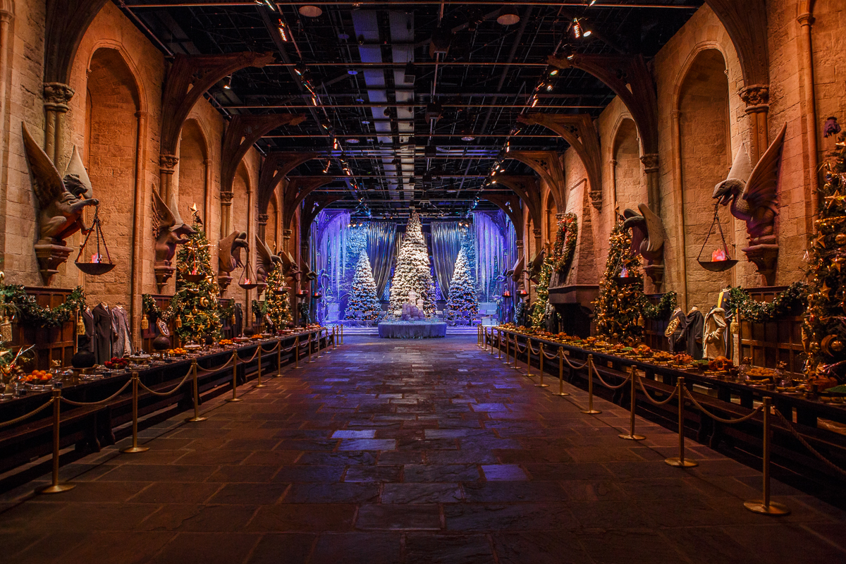 Hogwarts In The Snow Amp Dinner In The Great Hall Return To