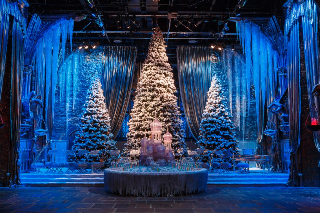 Great Hall with Yule Ball stage (4)