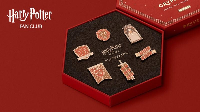 Harry Potter Fan Club Gryffindor Pins