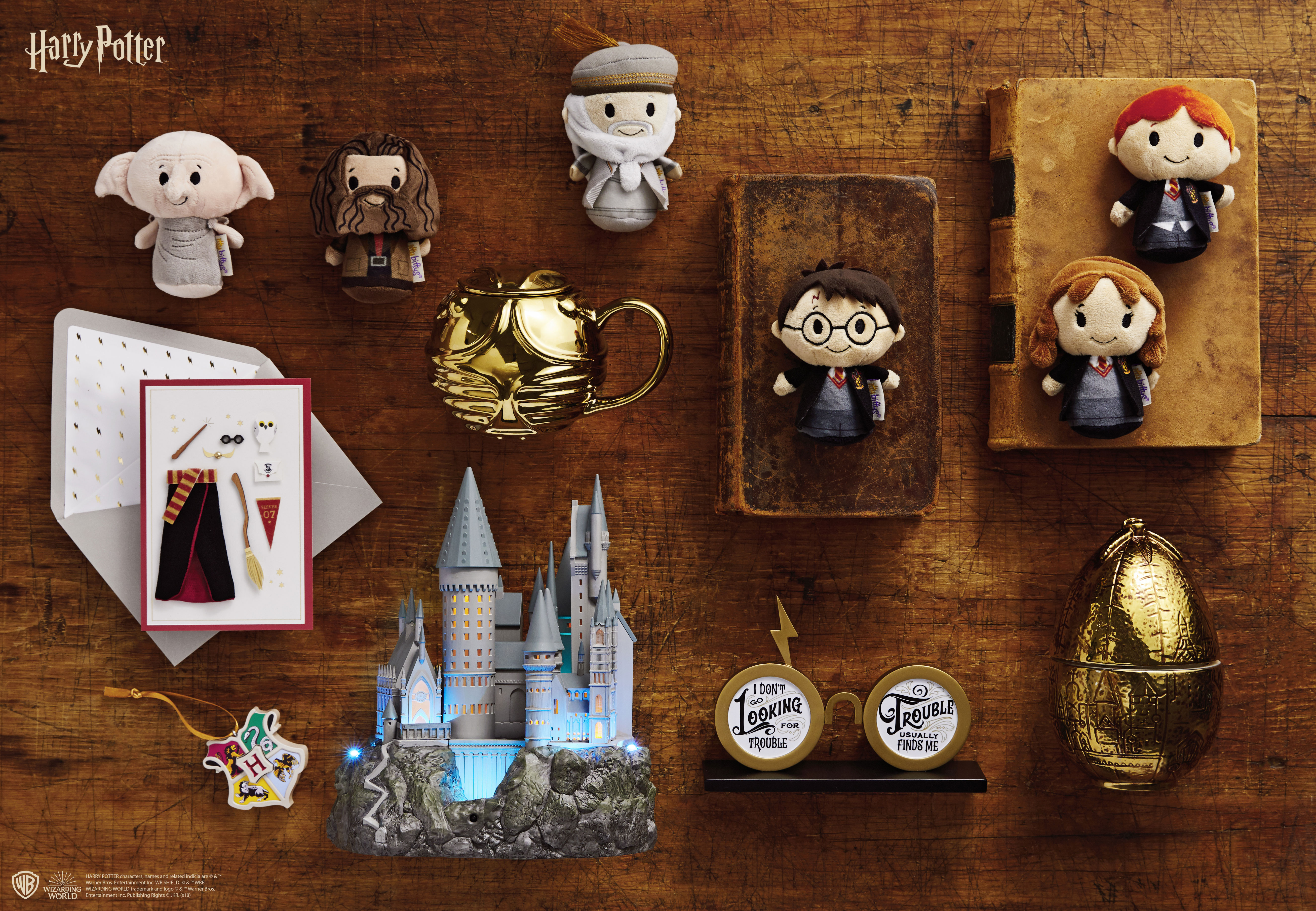 Hallmark Unveils Magical New Harry Potter Collectibles