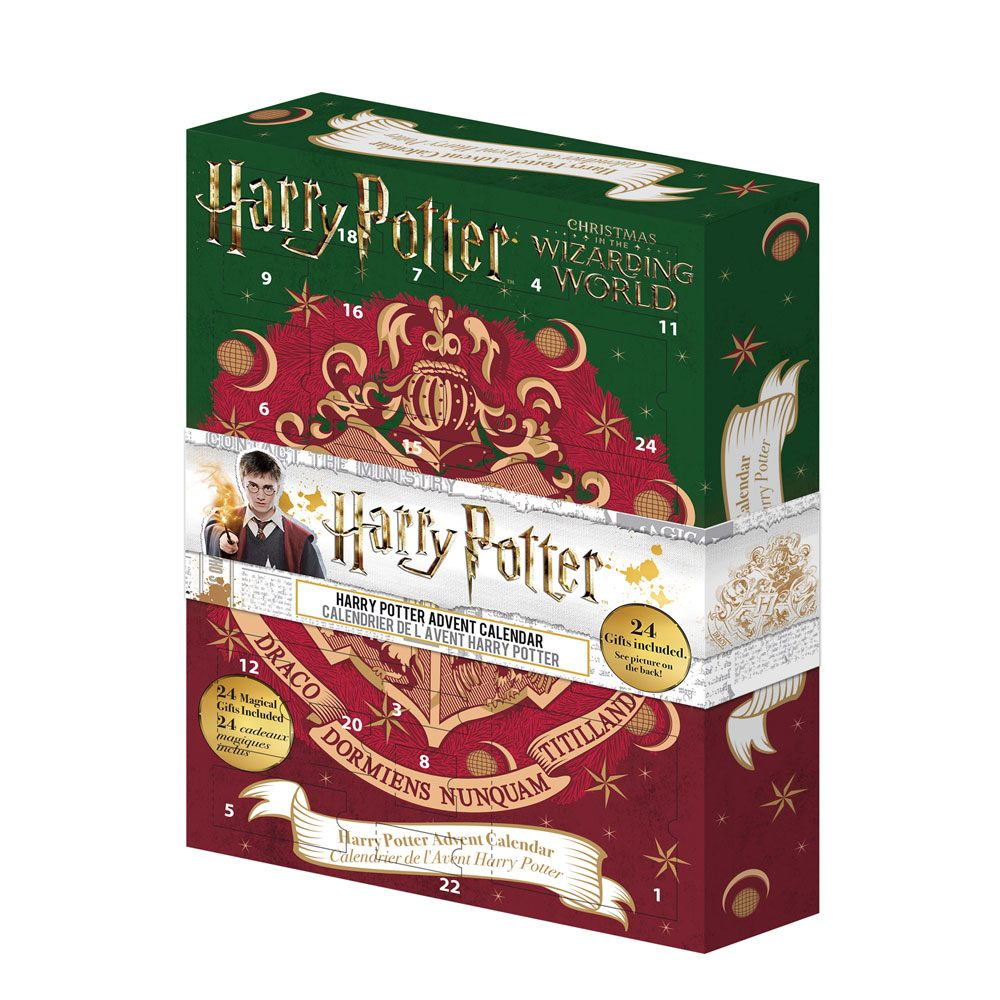 Harry Potter Advent Calendar.New Wizarding World Advent Calendar From Cinereplicas The Leaky