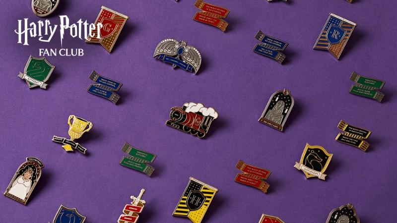 Harry Potter Fan Club Pin Seekers All Pins