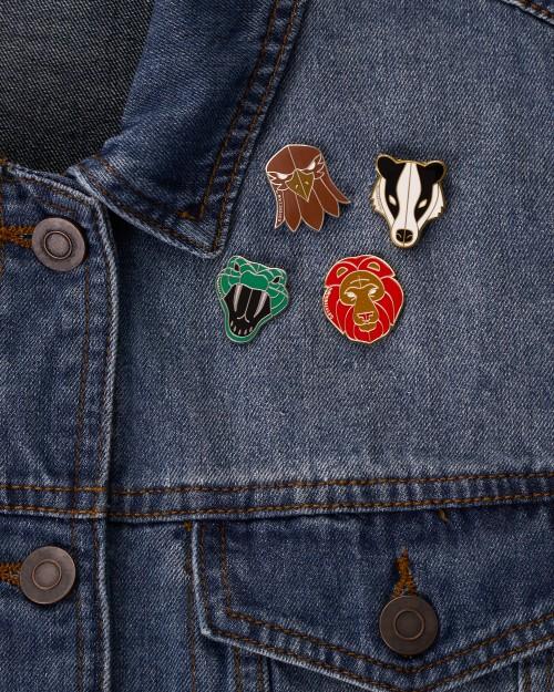 Harry Potter Fan Club Pin Seekers Jacket