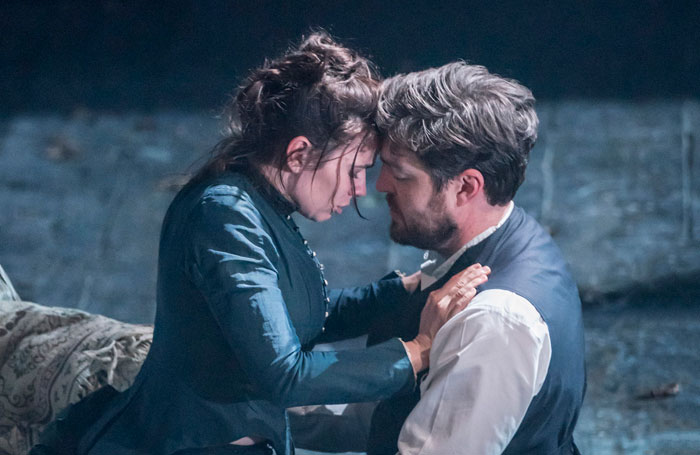 Hayley-Atwell-and-Tom-Burke-in-Rosmersholm1