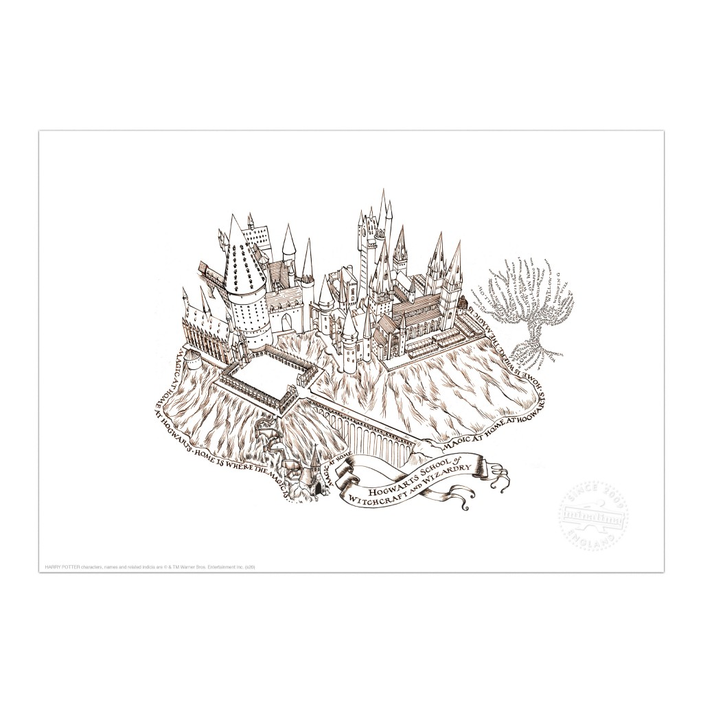 Hogwarts-Magic at Home_print_MinaLima