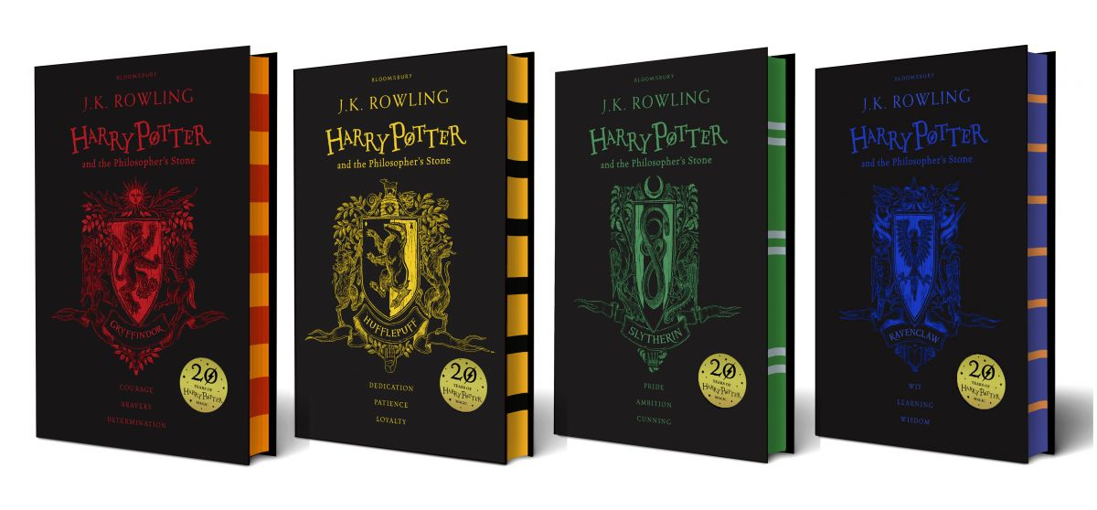 House editions of Philosopher's Stone - all four hardbacks_0