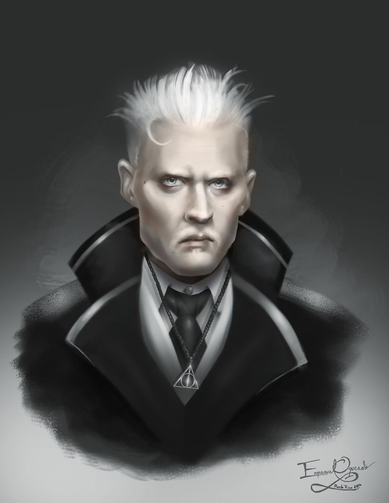 J k rowling reveals gellert grindelwald is an occlumens for Harry potter grindelwald wand