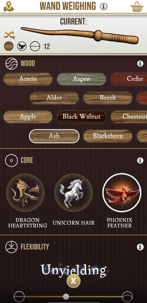 Wizards Unite Wand Info