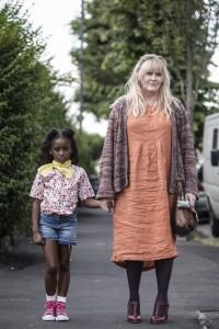 Kiri (Felicia Mukasa) and Miriam (Sarah Lancashire)  Kiri TV Still Channel 4 Image via Nathalie Mohoboob