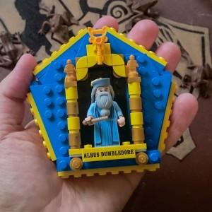LEGOdumbledorechocolatefrogcard