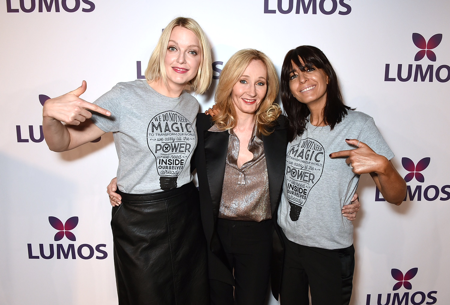 jk rowling essay the daily beast j k rowling n pottermore  j k rowling and julie walters make most inspirational over 50 london england 17 l r lauren laverne