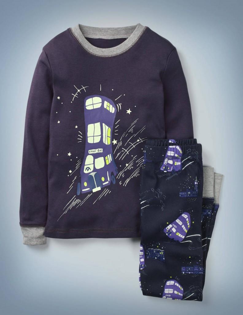 Mini Boden B0884 Lumos Glow-in-the-dark Pyjamas NAV £26-£30