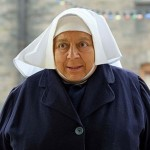 WARNING: Embargoed for publication until 00:00:01 on 11/12/2018 - Programme Name: Call the Midwife S8 - TX: 25/12/2018 - Episode: Call The Midwife S8 - Christmas Special 2018 (No. n/a) - Picture Shows: ***EMBARGOED TILL 00:01 11TH DECEMBER 2018*** Sister  Mildred (MIRIAM  MARGOLYES) - (C) Neal Street Productions - Photographer: Joss Barrett