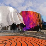 EMP Museum at Seattle Center, Experience Music Project, designed by Frank Gehry, Seattle, Washington, USA