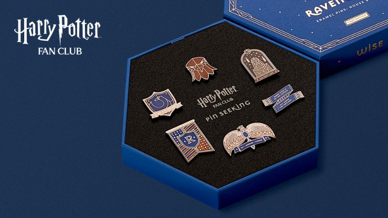 Harry Potter Fan Club Ravenclaw Pins