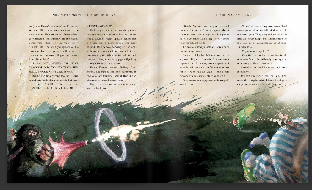 Harry Potter Book Jim Kay : Jim kay reveals new drawings for the illustrated edition