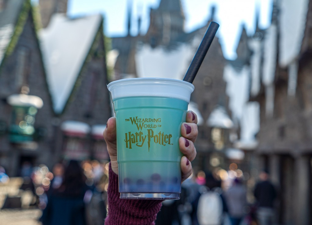Fishy Green Ale from the Wizarding World of Harry Potter at Universal Studios Hollywood
