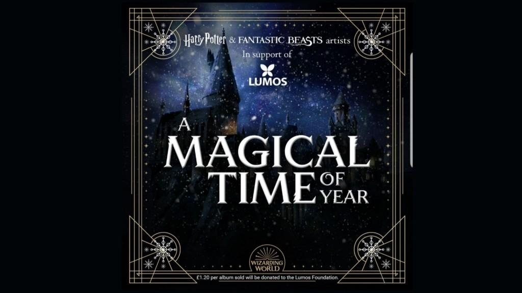 WizardingWorldchristmasalbumcover