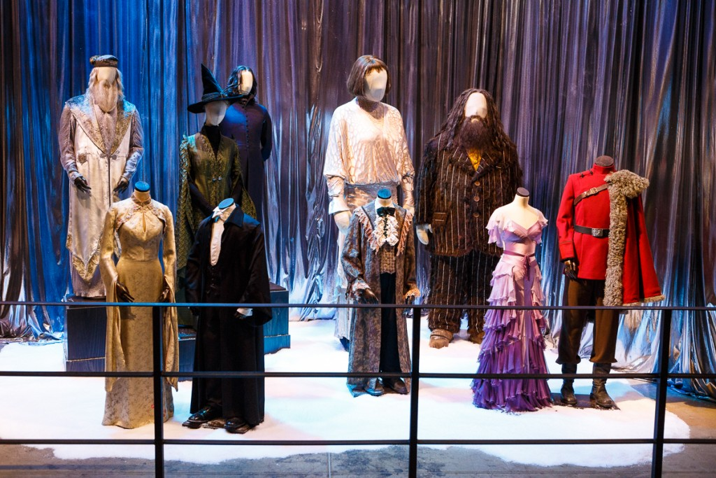 Yule Ball costume display (2)