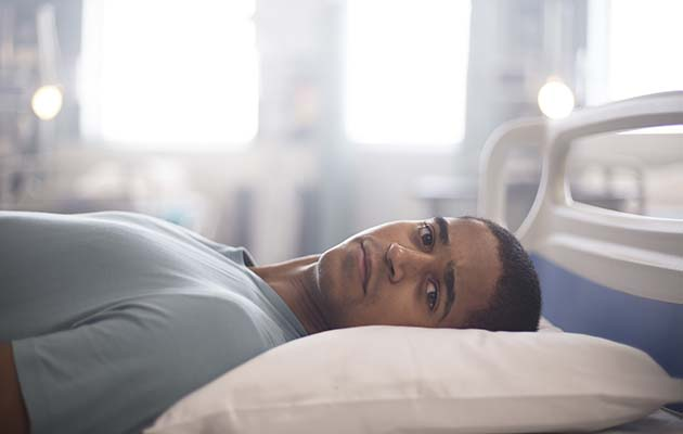 WARNING: Embargoed for publication until 00:00:01 on 29/03/2019 - Programme Name: Trust Me - TX: n/a - Episode: n/a (No. 1) - Picture Shows: Iconic image Jamie McCain (ALFRED ENOCH) - (C) © Red Production Company - Photographer: Mark Mainz