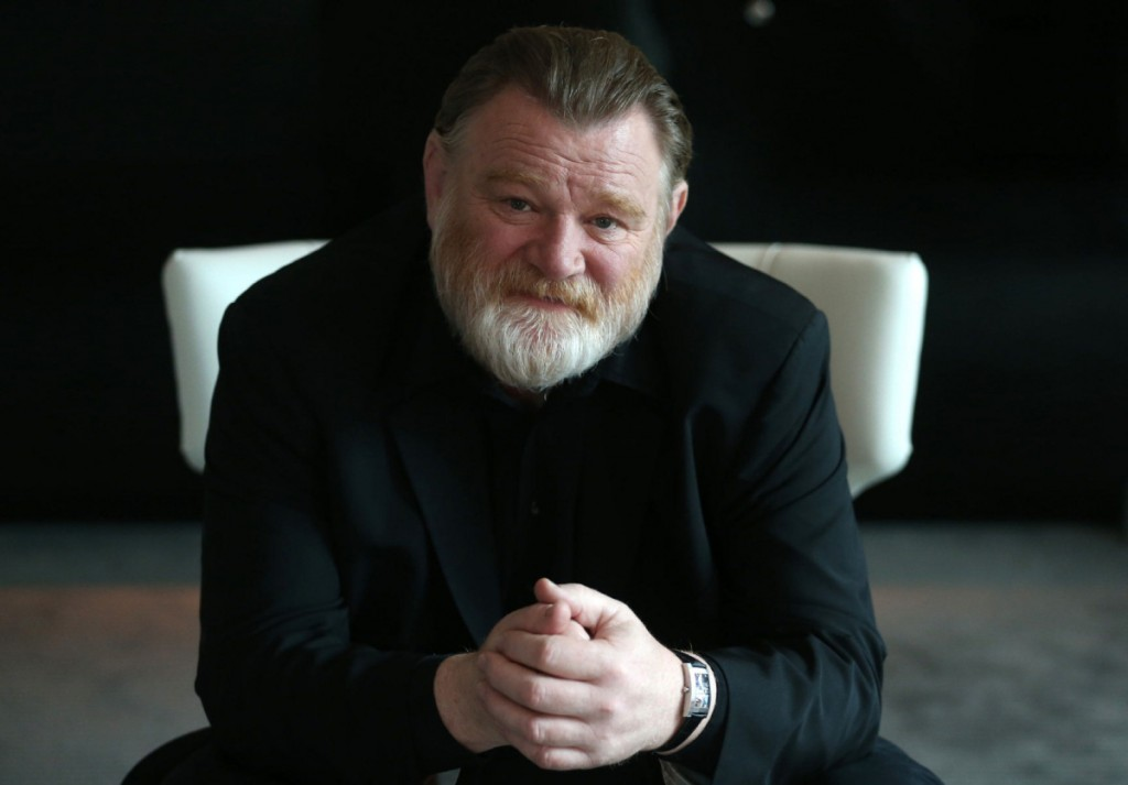 Brendan Gleeson who stars in The Grand Seduction at theTrump Hotel