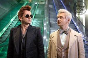 Good Omens Pictured:  David Tennant & Michael Sheen