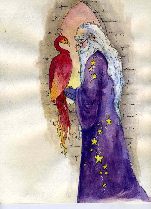 dumbledore_and_fawkes_by_longlivequeequeg