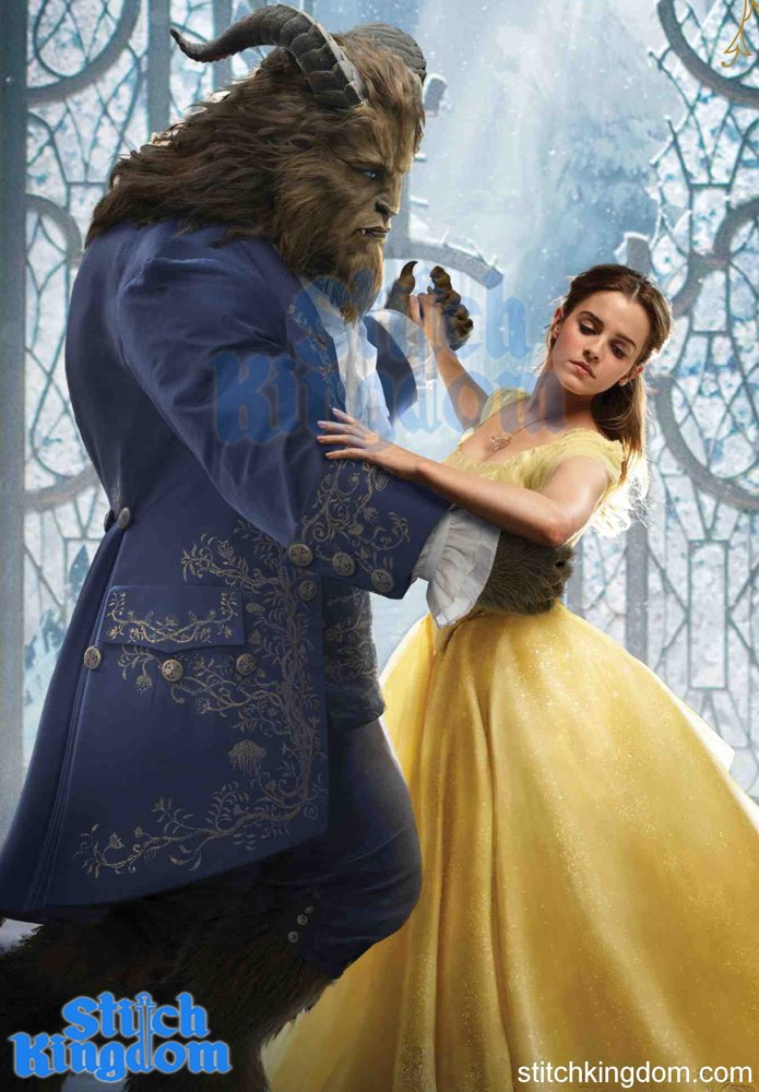 Enchanting New Beauty And The Beast Poster Unveiled