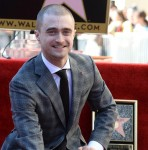 HOLLYWOOD, CA - NOVEMBER 12:  Actor Daniel Radcliffe is honored with a star on The Hollywood Walk of Fame on November 12, 2015 in Hollywood, California.  (Photo by Amanda Edwards/WireImage)