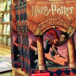 Copies of Harry Potter and the Sorcerer's Stone, on sale in an Arlington, Virginia bookstore in 2000.