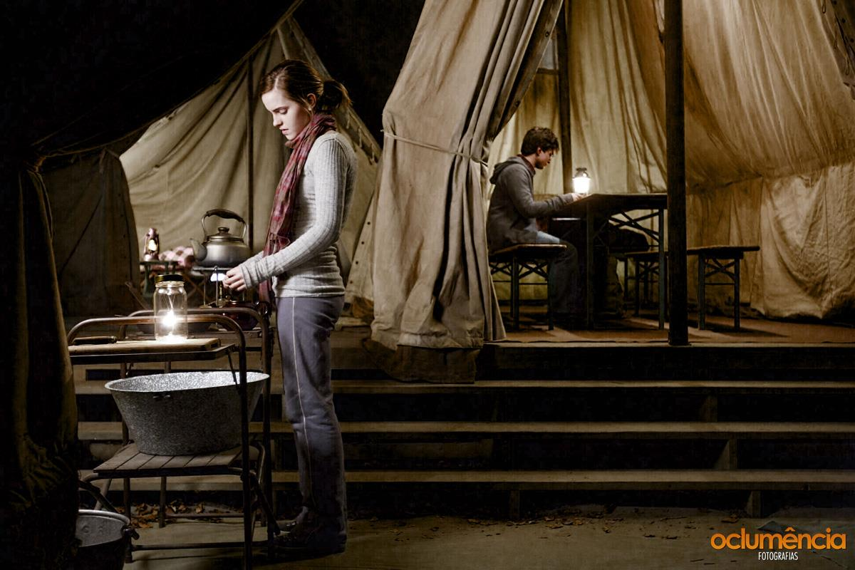 harry-hermione-in-the-tent & The Ghosts of Godricu0027s Hollow - The-Leaky-Cauldron.org « The-Leaky ...