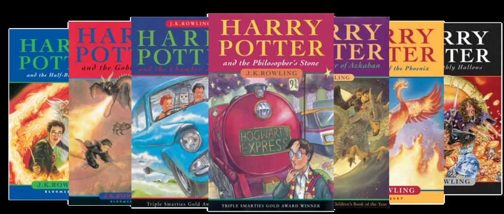 harry potter books bloomsbury