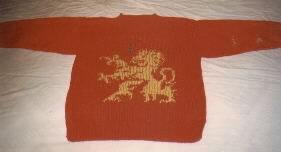 Heraldic Lion Sweater