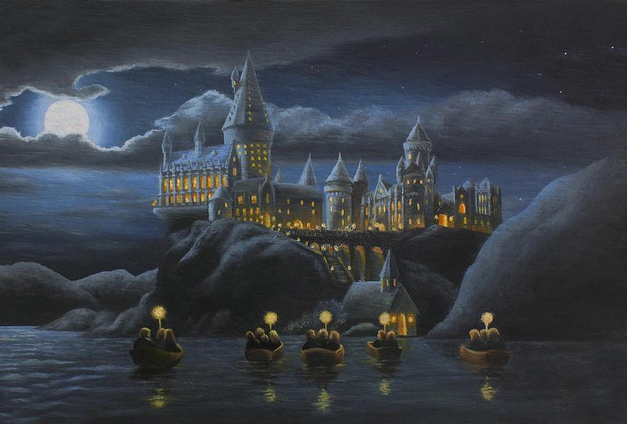 hogwarts-at-night-karen-coombes