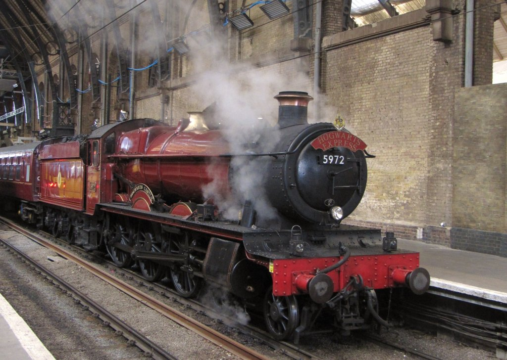 The hogwarts express saves the day the leaky cauldron for Express template engines