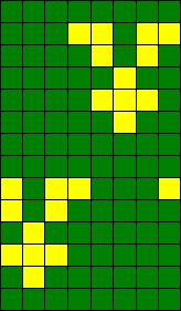 House Elf Sock Chart - Green Sock