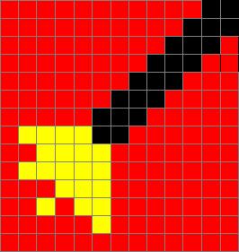 House Elf Sock Chart - Red Sock