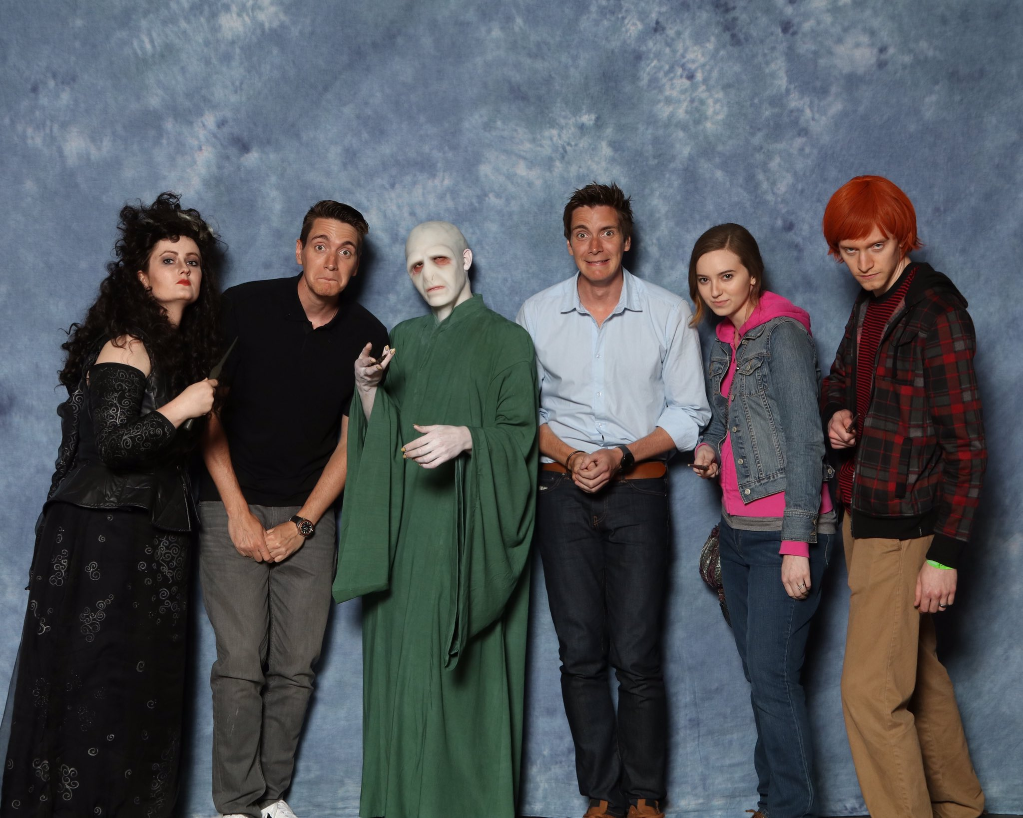 James and Oliver Phelps at Dallas Comic Con - The-Leaky ...